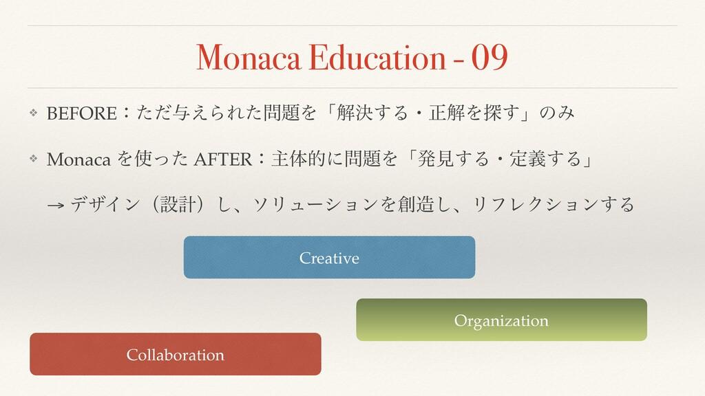 Monaca Education - 09 ❖ BEFOREɿͨͩ༩͑ΒΕͨΛʮղܾ͢Δɾ...