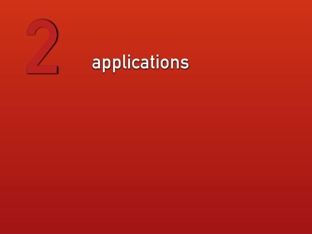 applications 2