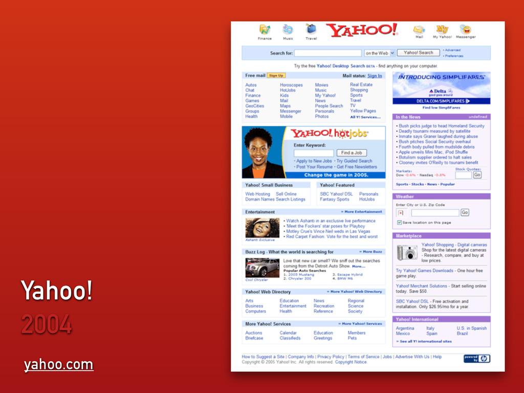 yahoo.com Yahoo! 2004