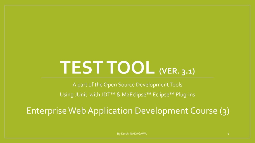 VERSION CONTROL TOOL A part of the Open Source ...
