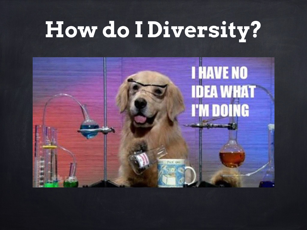 How do I Diversity?