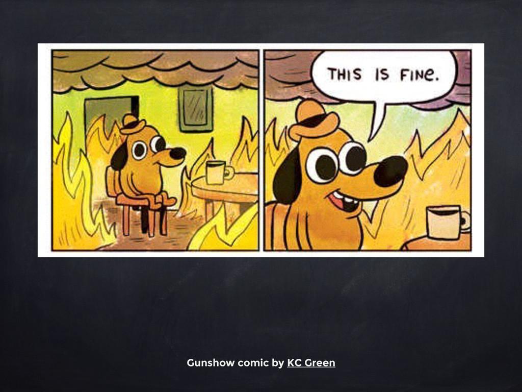 Gunshow comic by KC Green