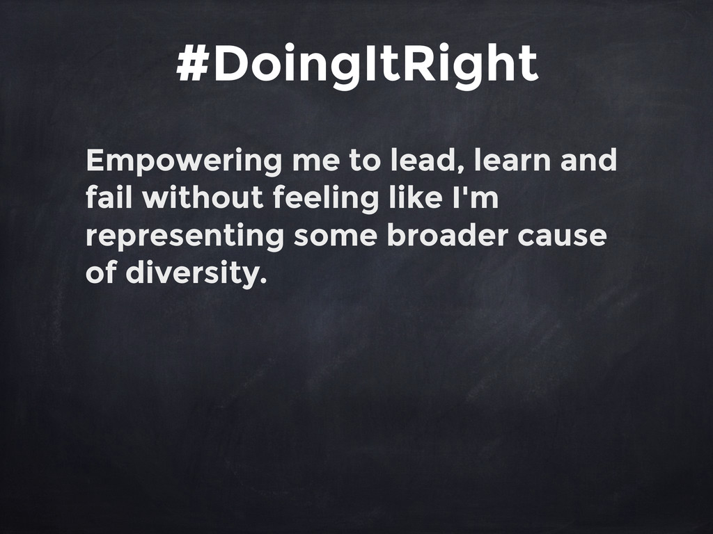 Empowering me to lead, learn and fail without f...
