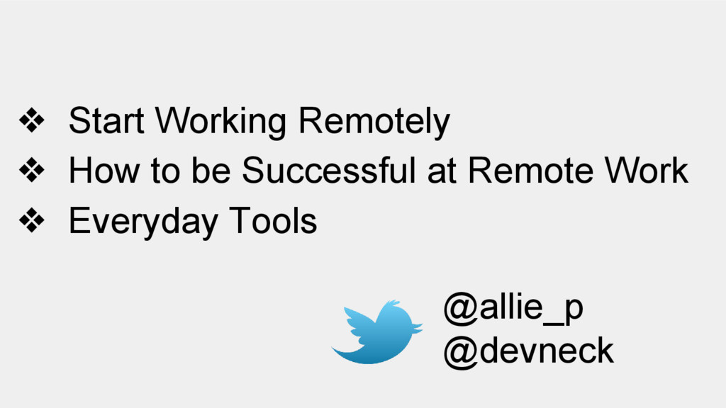 ❖ Start Working Remotely ❖ How to be Successful...