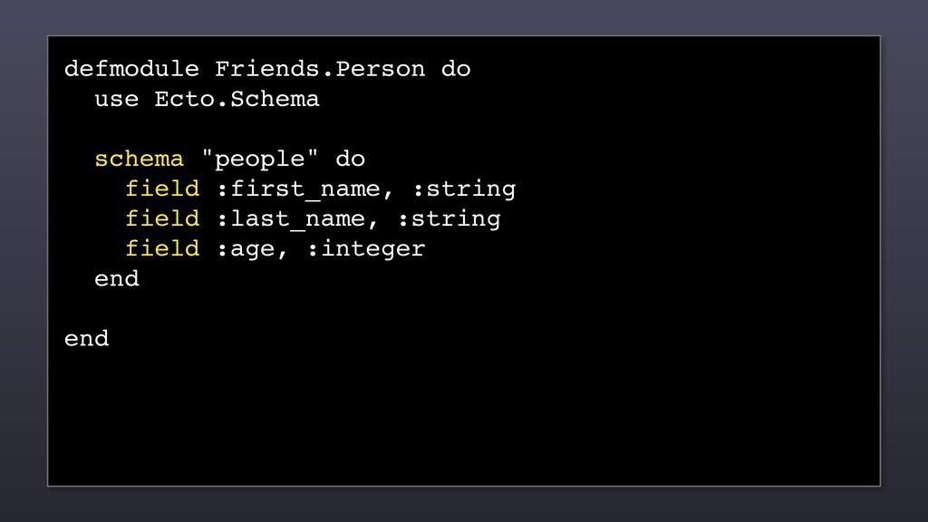 defmodule Friends.Person do use Ecto.Schema sch...