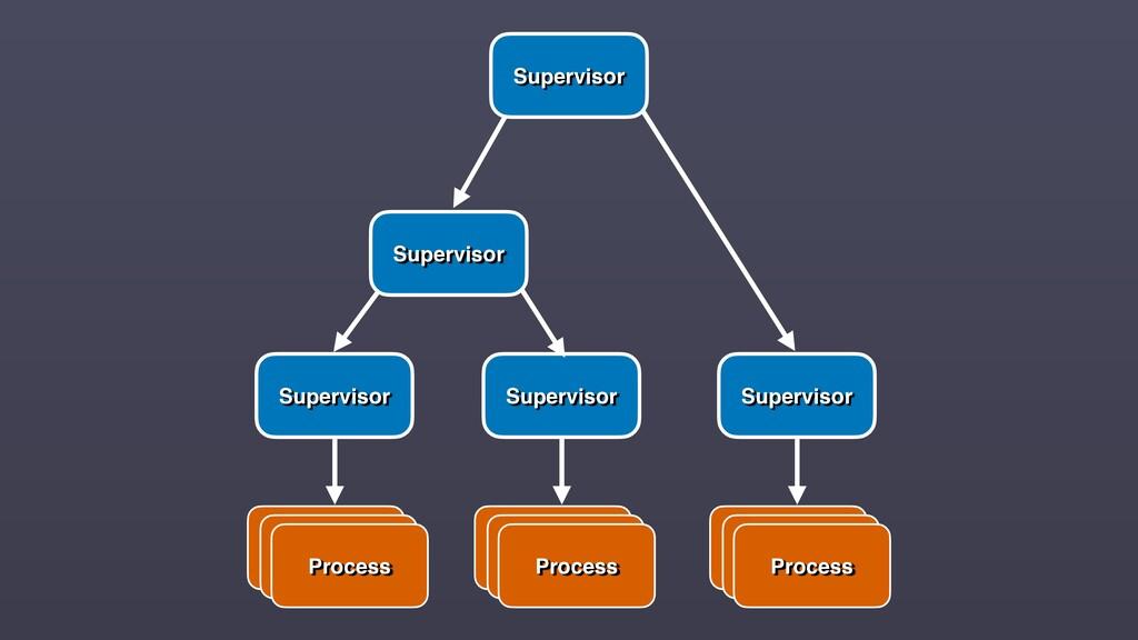 Supervisor Process Process Process Supervisor P...