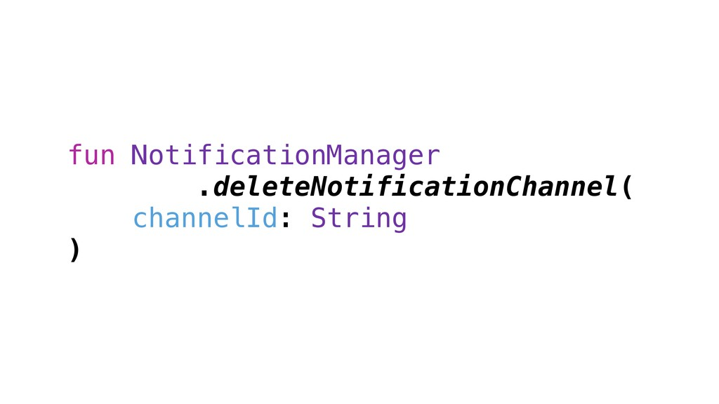 fun NotificationManager .deleteNotificationChan...