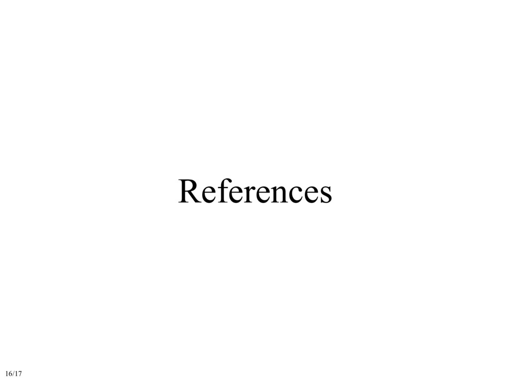 References 16/17