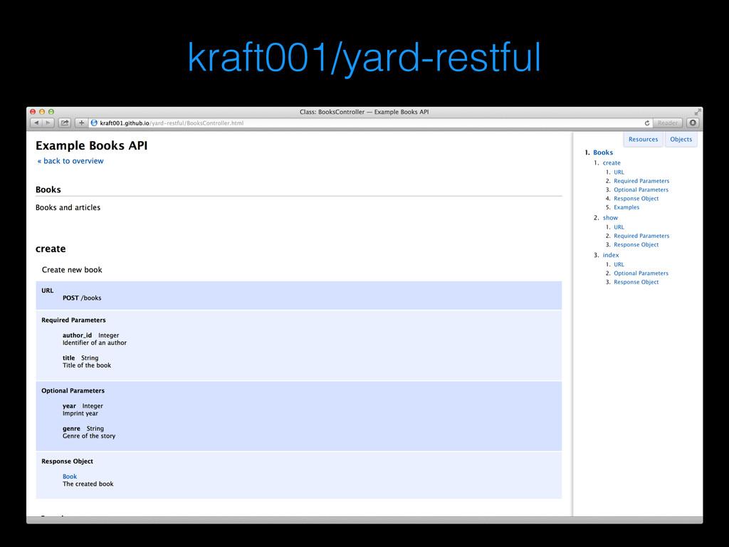kraft001/yard-restful
