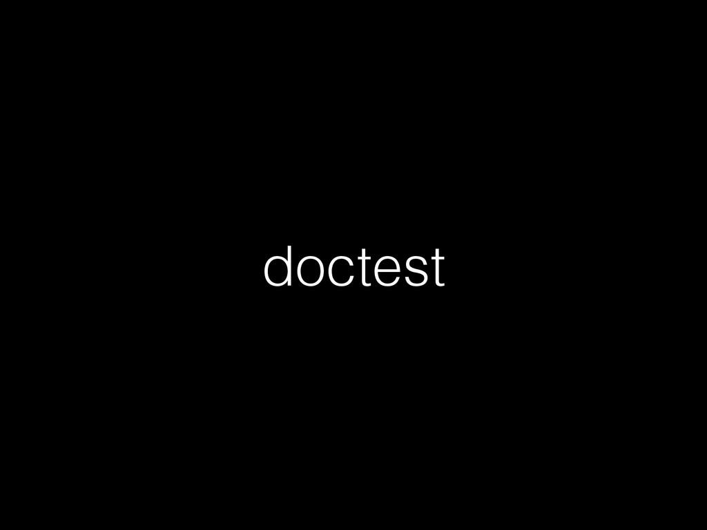 doctest