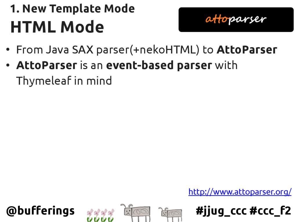 #jjug_ccc #ccc_f2 @bufferings HTML Mode • From ...
