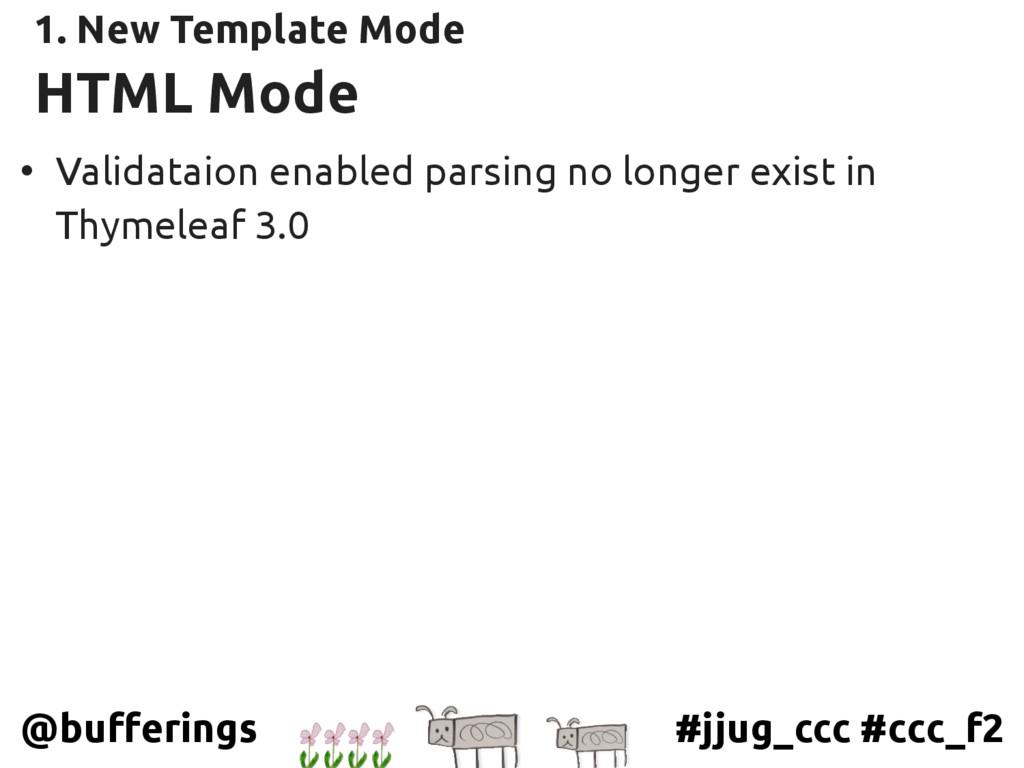 #jjug_ccc #ccc_f2 @bufferings HTML Mode • Valid...