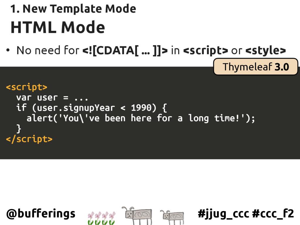 #jjug_ccc #ccc_f2 @bufferings HTML Mode • No ne...