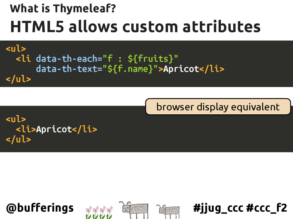 #jjug_ccc #ccc_f2 @bufferings HTML5 allows cust...