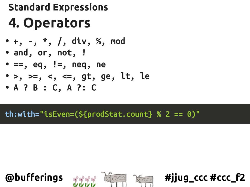 #jjug_ccc #ccc_f2 @bufferings 4. Operators Stan...