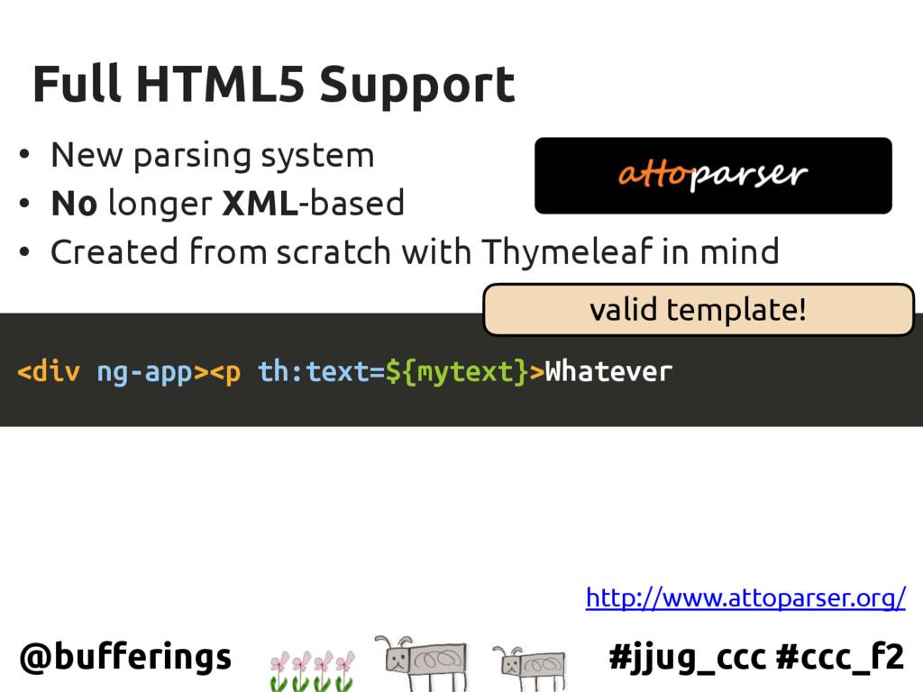 #jjug_ccc #ccc_f2 @bufferings Full HTML5 Suppor...