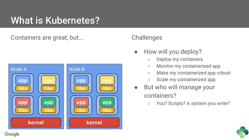 Challenges ● How will you deploy? ○ Deploy my c...
