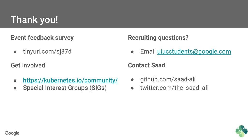 Event feedback survey ● tinyurl.com/sj37d Get I...