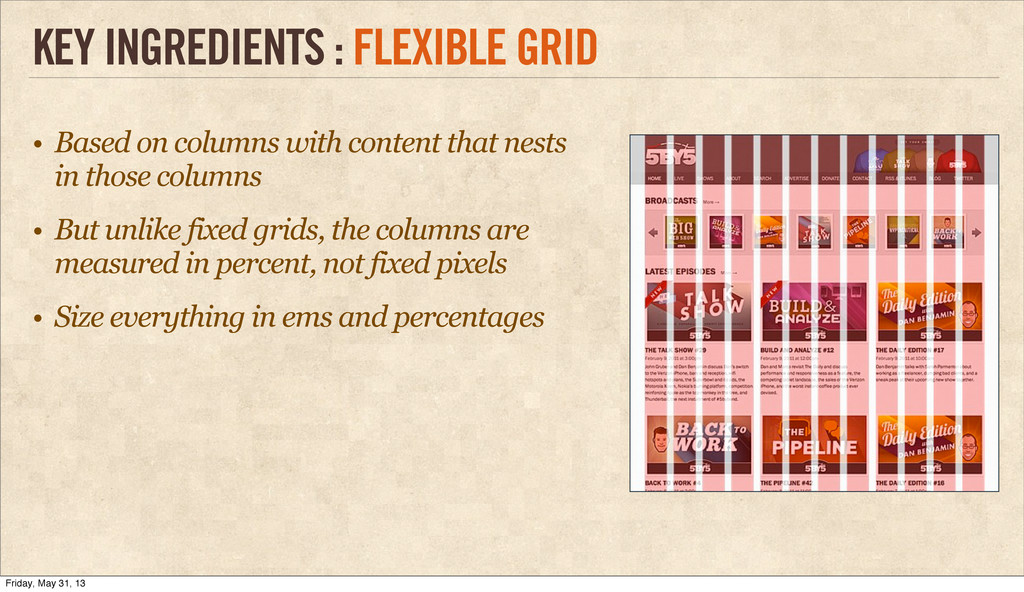 • Based on columns with content that nests in t...