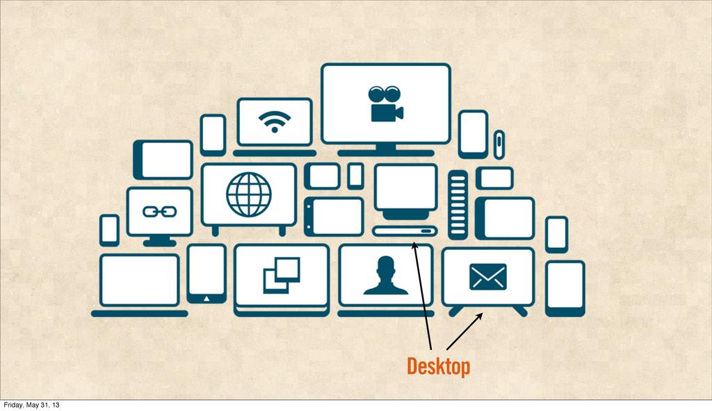 Desktop Friday, May 31, 13