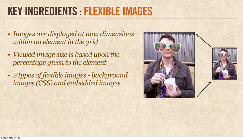 • Images are displayed at max dimensions within...
