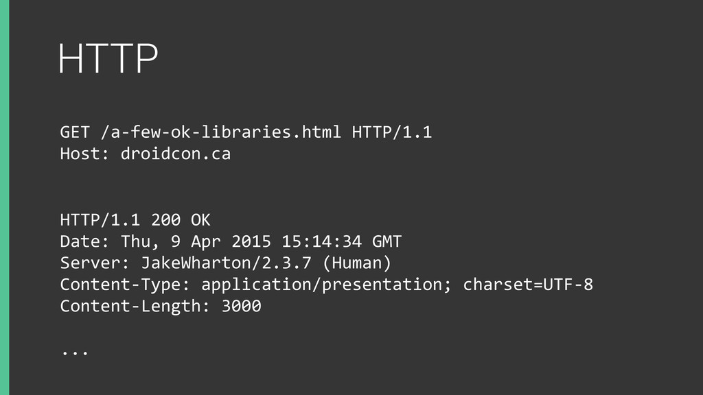 HTTP GET	