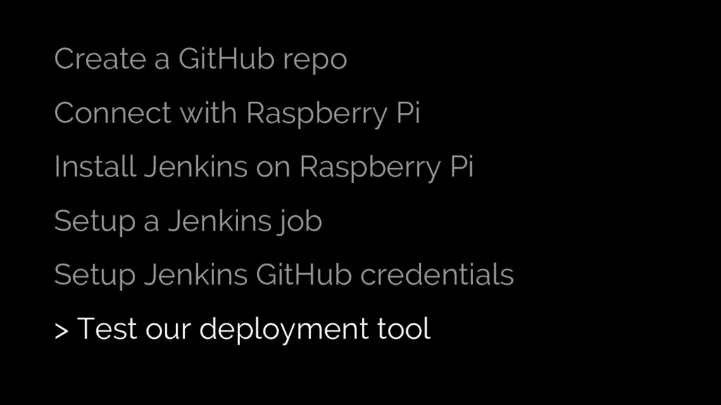 Create a GitHub repo Connect with Raspberry Pi ...