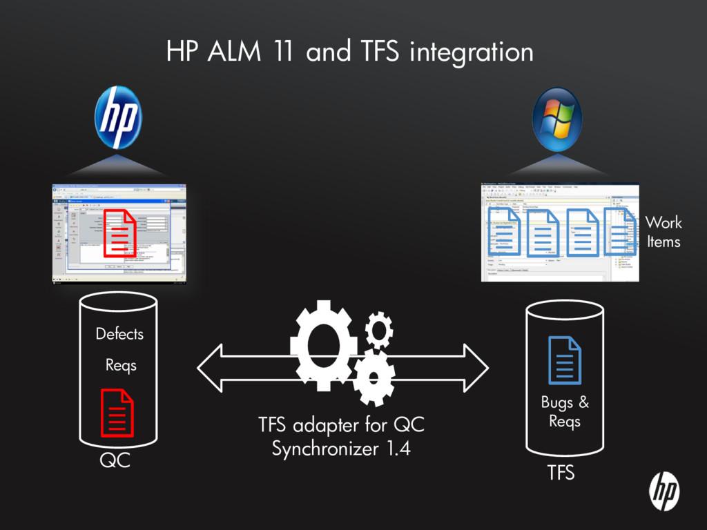 HP ALM 1 1 and TFS integration QC TFS TFS adapt...