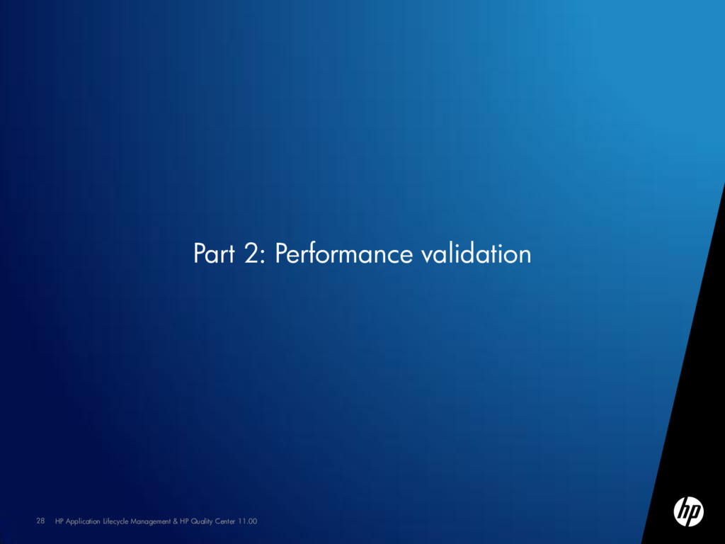 28 HP Application Lifecycle Management & HP Qua...