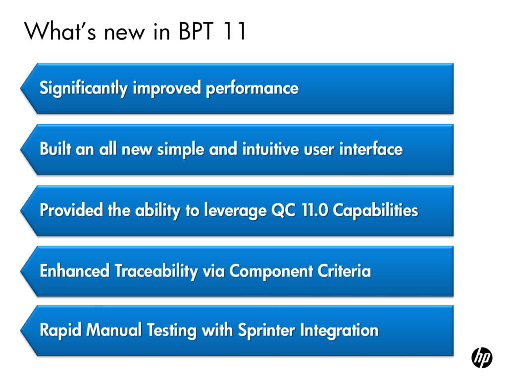 """What""""s new in BPT 11 Significantly improved per..."""