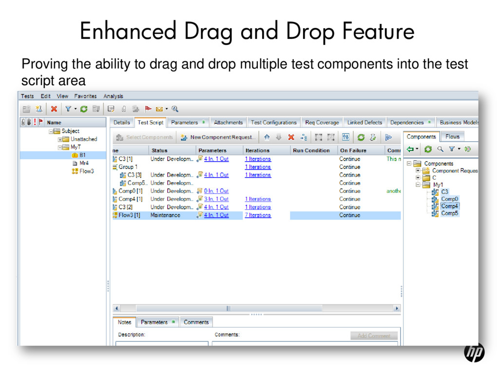 Enhanced Drag and Drop Feature Proving the abil...