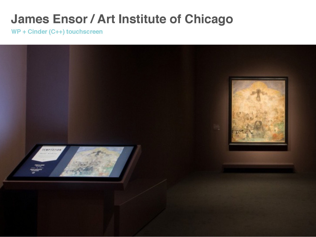 James Ensor / Art Institute of Chicago WP + Cin...