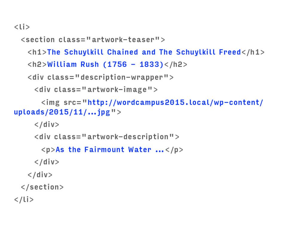 """<li> <section class=""""artwork-teaser""""> <h1>The S..."""