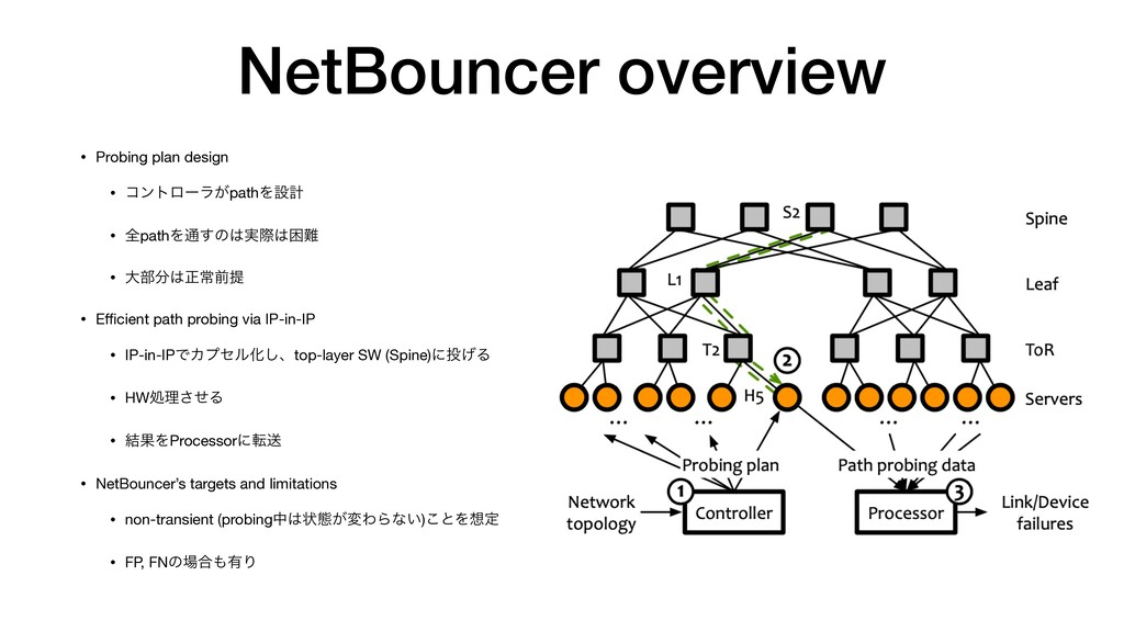 NetBouncer overview • Probing plan design   • ί...
