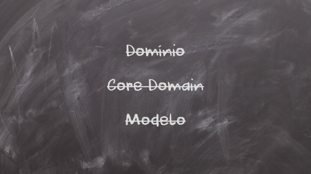 Domínio Core Domain Modelo
