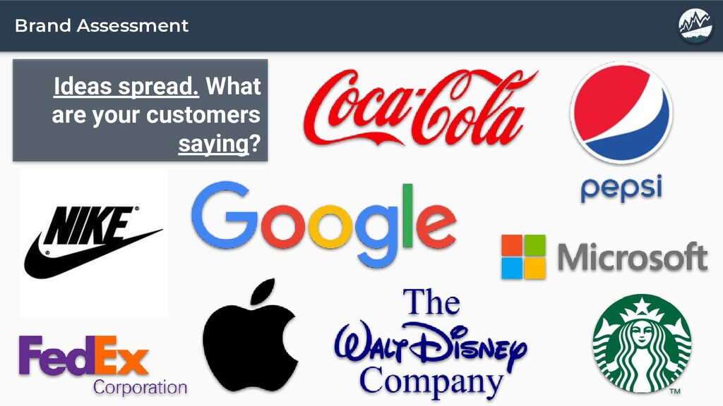 Brand Assessment Ideas spread. What are your cu...