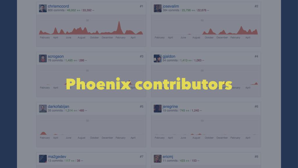 Phoenix contributors
