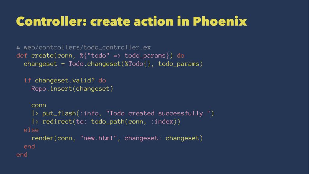 Controller: create action in Phoenix # web/cont...