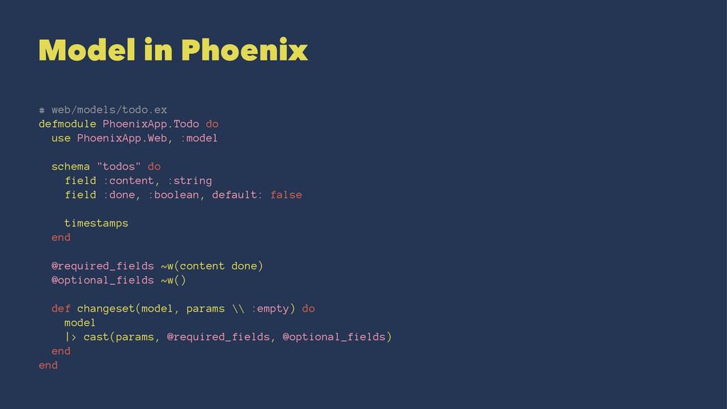 Model in Phoenix # web/models/todo.ex defmodule...