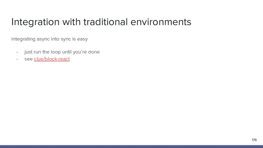 Integration with traditional environments 176 i...