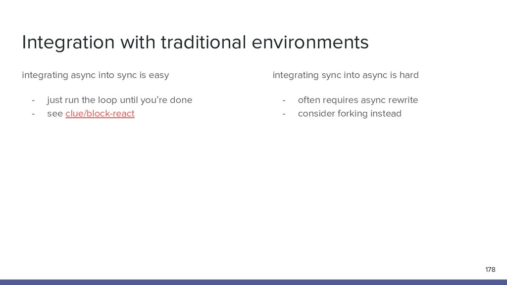 Integration with traditional environments 178 i...
