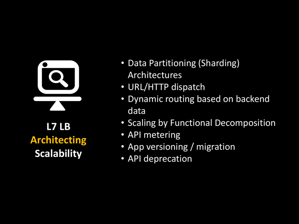 • Data Partitioning (Sharding) Architectures • ...
