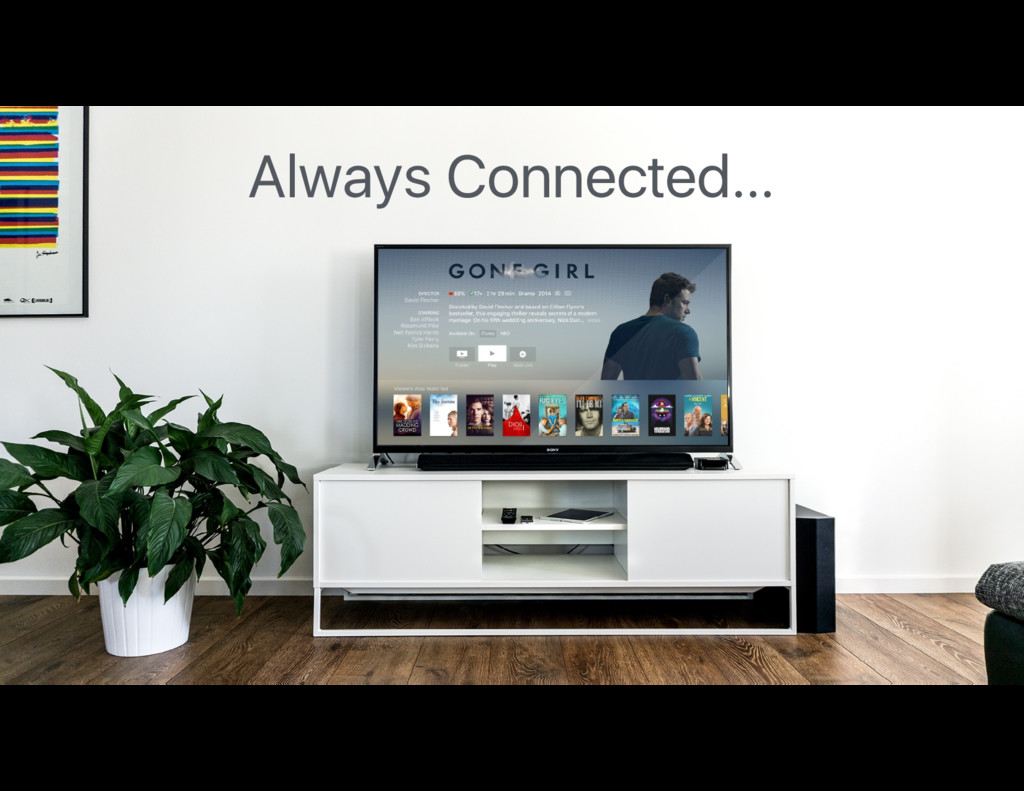 Always Connected…