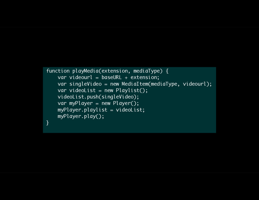 function playMedia(extension, mediaType) { var ...