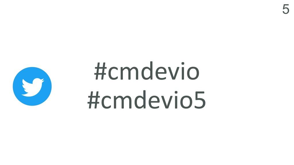 5 #cmdevio #cmdevio5