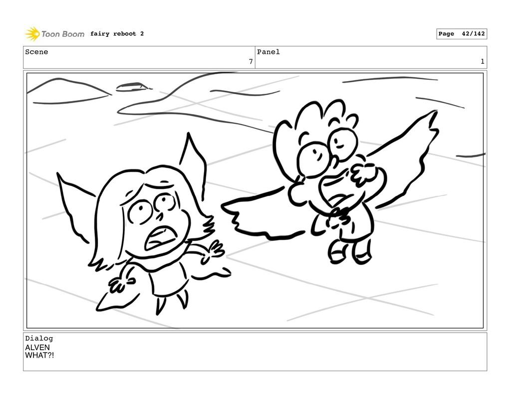 Scene 7 Panel 1 Dialog ALVEN WHAT?! fairy reboo...