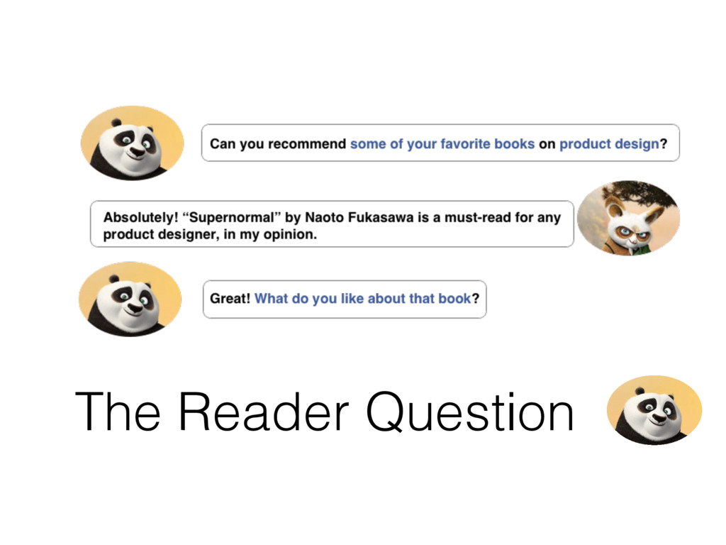 The Reader Question