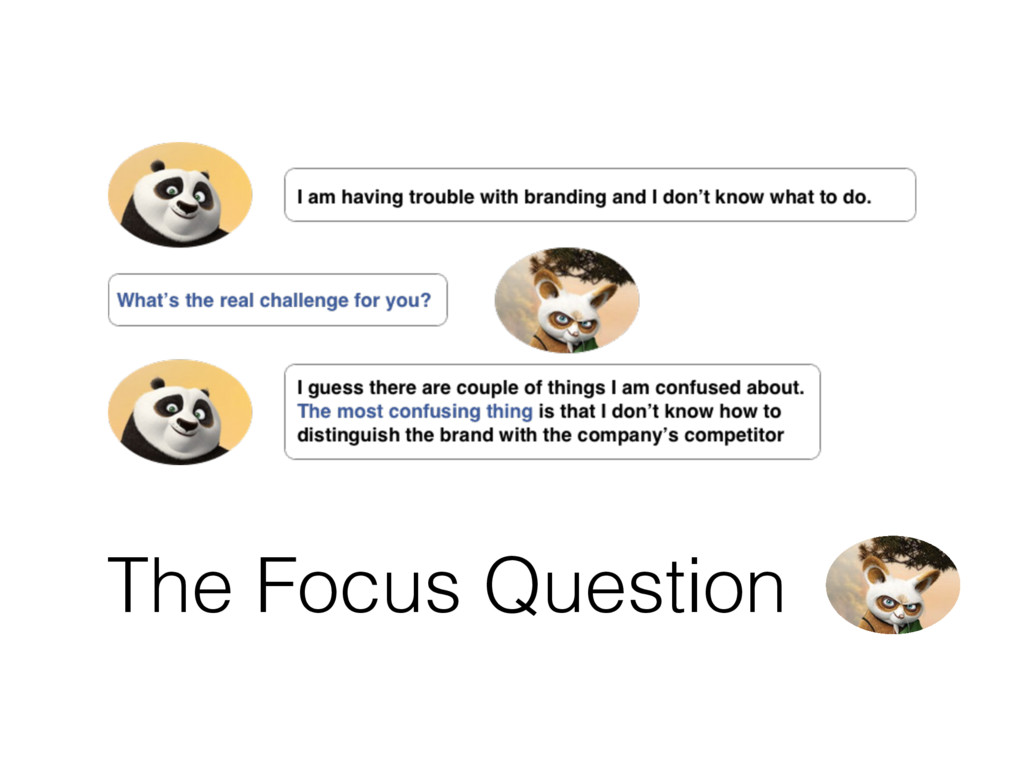 The Focus Question