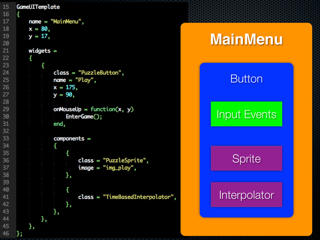 MainMenu Button Sprite Interpolator Input Events