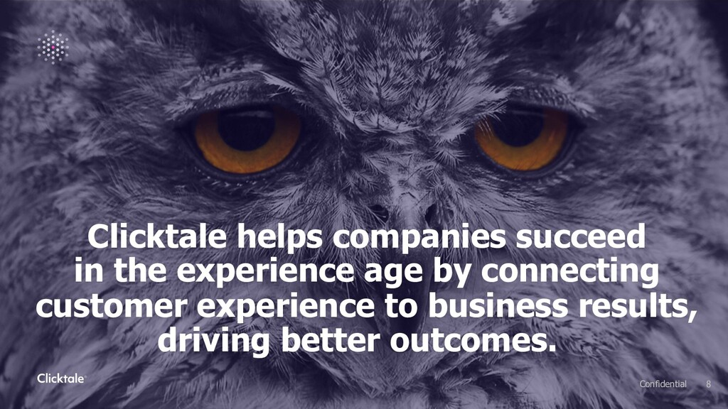 Clicktale helps companies succeed in the experi...